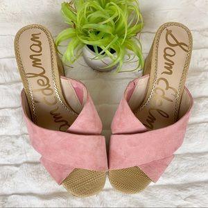 Sam Edelman Jayne Sandals True Pink sz 10